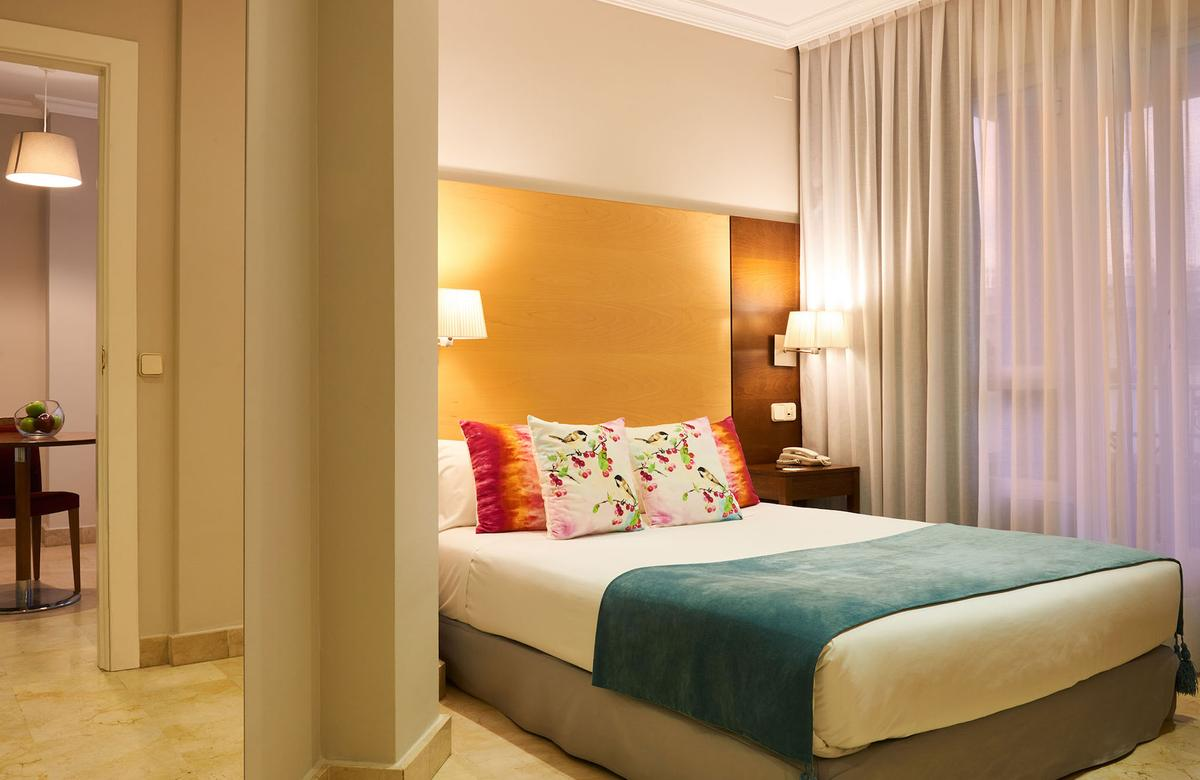 Suites barrio de salamanca madrid habitaciones for Codigo postal del barrio de salamanca en madrid